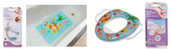 Dreambaby®'s NEW Bathroom Health and Safety Products