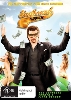 Eastbound & Down Season 4 DVD