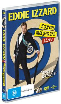 Eddie Izzard 'Force Majeure' DVD