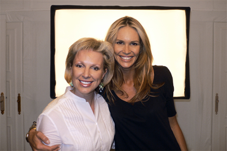 Elle MacPherson the new face of ModelCo, erasing fine lines