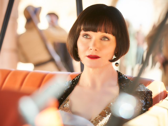 Essie Davis Miss Fisher and the Crypt Of Tears Interview