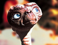 E.T. Phones Home at Gala World Premiere