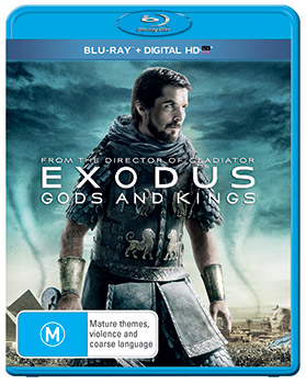 Exodus: Gods and Kings Blu-rays