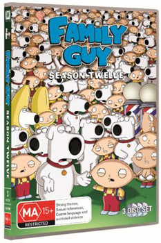 Family Guy: Season 12 DVD