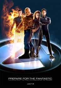 Fantastic Four - Mr. Fantastic, The Invisible Woman, The Human Torch & The Thing