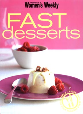 Women's Weekly Fast Desserts Brandy Snaps with Strawberries & Cream