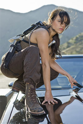 Michelle Rodriguez Fast and Furious Interview