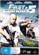 Fast and the Furious 5 DVD