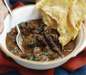 Lamb Curry with Spinach / Curry in a Hurry