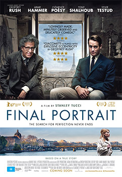 Stanley Tucci Final Portrait Interview