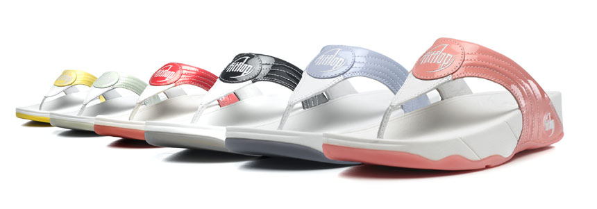 FitFlops summer styles that cushion your feet