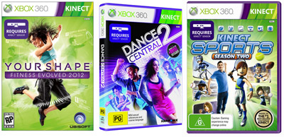 New Trends Emerge for Fitness with Kinect for Xbox 360
