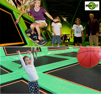 Flip Out Trampoline Park Family Passes