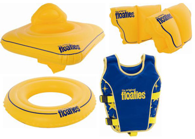 Keep Your Kids Afloat with the Original Floaties