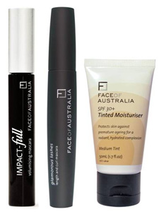 Face of Australia Tinted Moisturiser & Glamorous Lashes Mascara