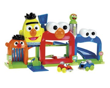 Fisher-Price Sesame Street Giggle & Go Garage