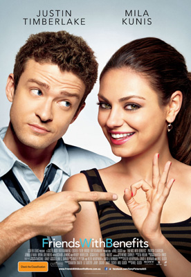 Justin Timberlake, Mila Kunis, Will Gluck, Friends With Benefits