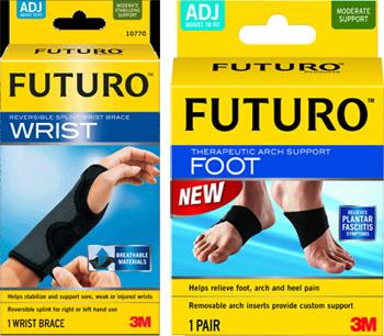 Futuro Night Foot and Wrist Sleep Support