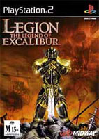 Legion, The Legend of Excalibur - Playstation 2