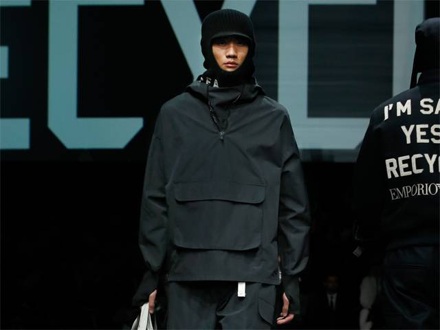 Emporio Armani Menswear Fall Winter 2020 Collection
