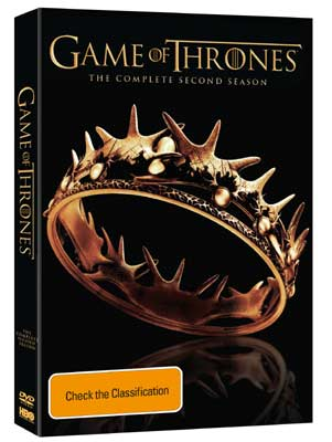 Game of Thrones Season 2 DVDs
