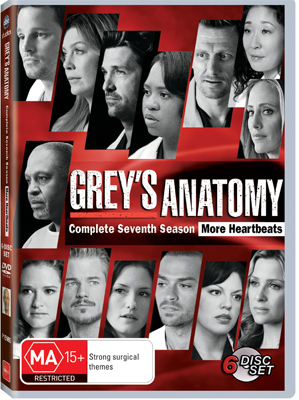 Grey's Anatomy The Complete Seventh Season DVD
