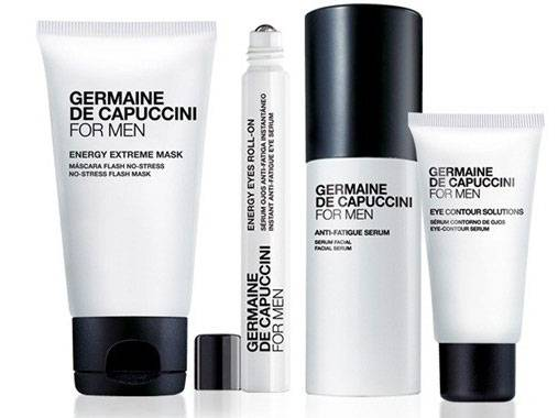Germaine de Capuccini's For Men Range