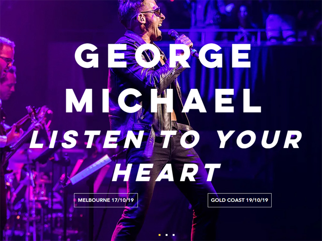 George Michael: Listen To Your Heart