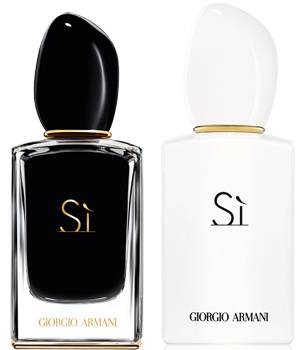 Giorgio Armani Si Intense EDP and Si EDP White