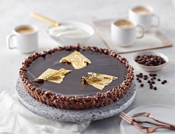 Gloria Jean's Hazelnut Coffee Tart