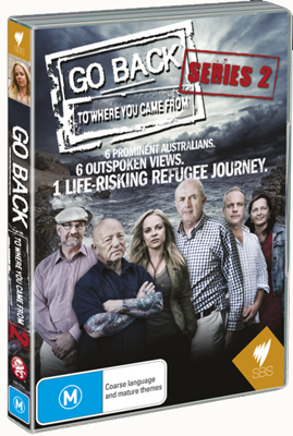 Go Back To Where You Came From Series 2 DVD