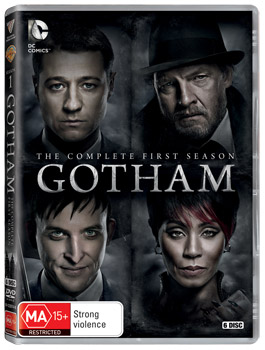 Gotham: The Complete First Season DVD