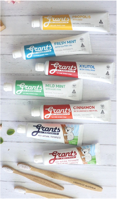 Family Toothpaste & Bamboo Toothbrush Packs