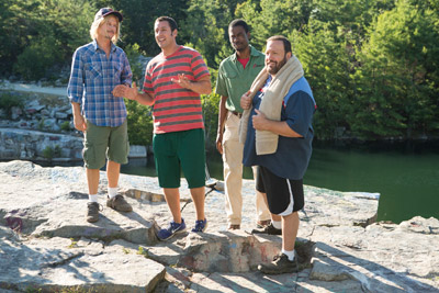 Adam Sandler and Kevin James Grown Ups 2