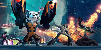 Marvel's Guardians of the Galaxy Play Set Coming to Disney Infinity 2.0: Marvel Super Heroes