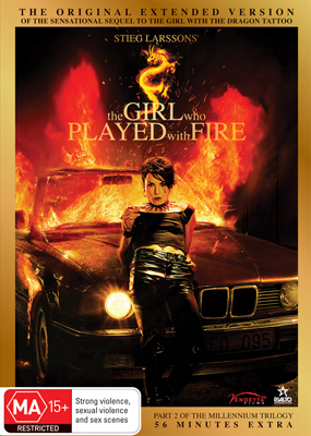 Girl Who Played With Fire DVD