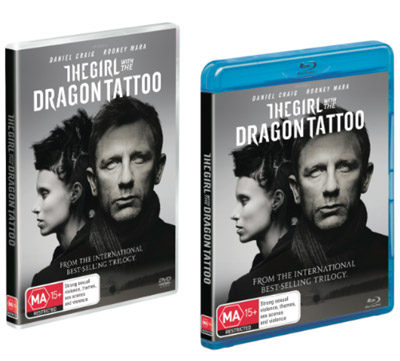 Girl with the Dragon Tattoo DVD