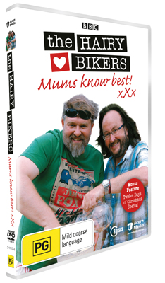The Hairy Bikers Mum Knows Best and Christmas Special DVD
