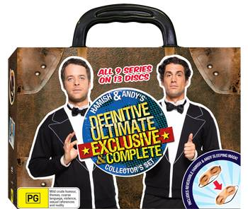 Hamish & Andy Definitive, Ultimate, Exclusive & Complete Collector's Set DVD