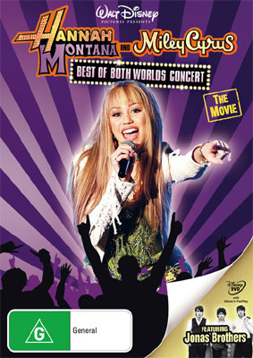 Hannah Montana Miley Cyrus Best of Both Worlds Concert Tour