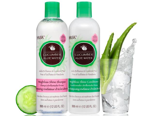 HASK Cucumber Aloe Water Weightless Shine