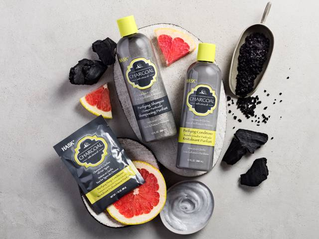 HASK's Charcoal Purifying Shampoo and Conditioner