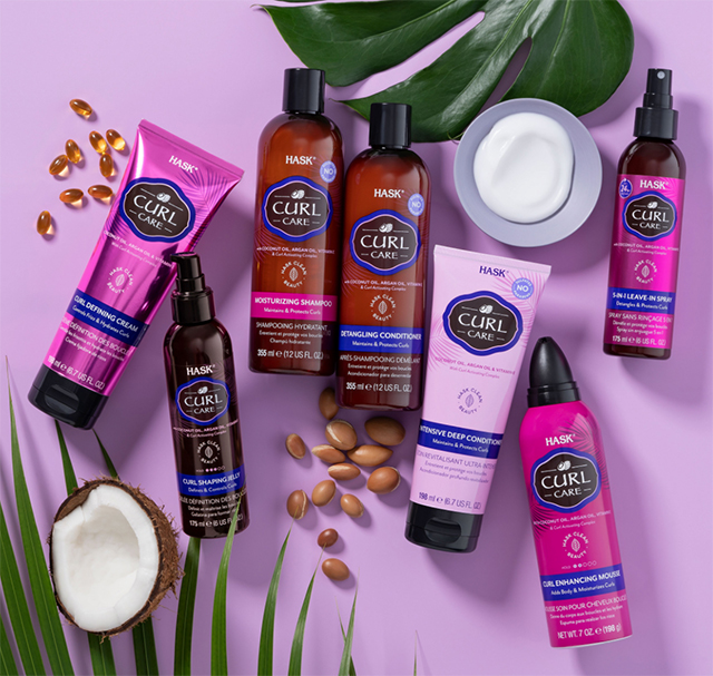 Hask Curl Care collection