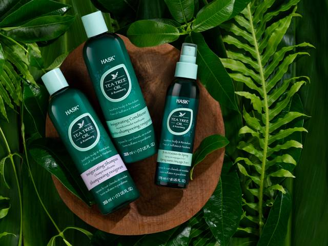 HASK Tea Tree Oil and Rosemary Invigorating Collection