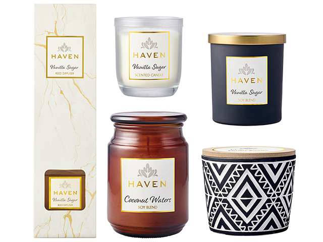 Win Haven Candles & Diffuser Sets