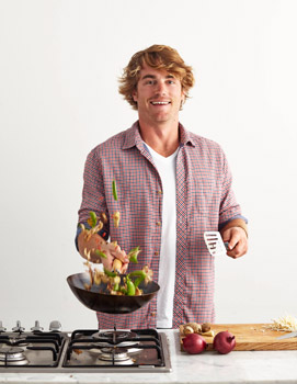 Hayden Quinn The Dinner Project Interview and Recipes