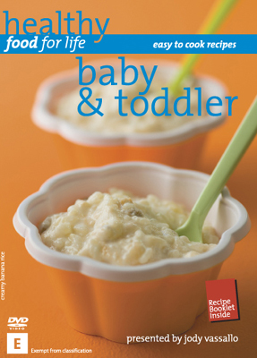 Healthy Food for Life Baby & Toddler DVD