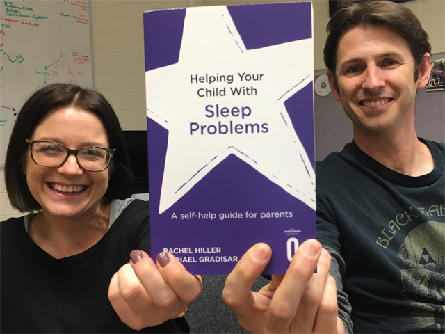 New Book Helps Families Improve Child Sleep Woes