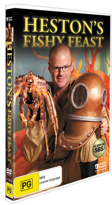 Heston's Fishy Feast DVD