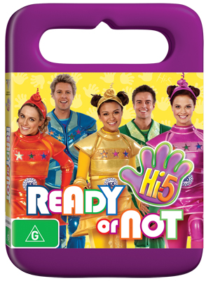 Hi-5 Ready or Not DVD